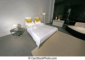 Modern Stylish Bedroom - Interior Design - Modern Stylish...