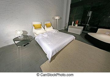 Modern Stylish Bedroom - Interior Design - Modern Stylish...