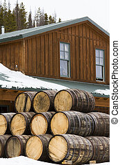 Distillery - Breckenridge distillery utilized traditional...