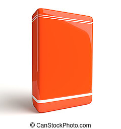 Product Software Box Orange