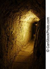 Corridor - An underground corridor in Acre, Israel