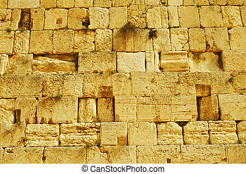 Wailing Wall - The Wailing Wall in Jerusalem