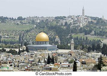 Jerusalem - Outlook on Jerusalem in Israel