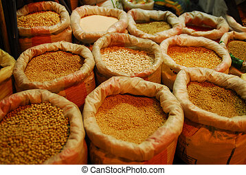 Seeds for sale on the market