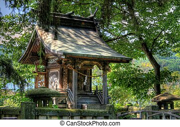 Shinto shrine in Japan - An historic shrine in the heartland...