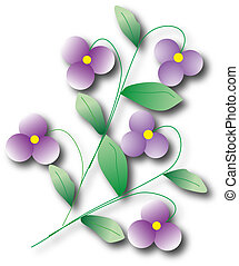 violet background vector