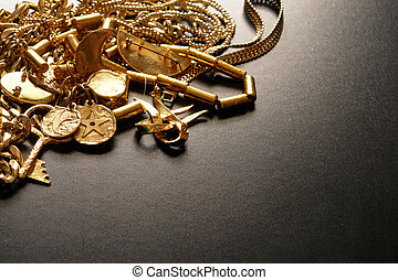 Wealth - Jewelry in a more dramatic lighting