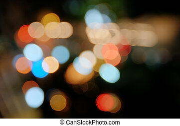 Colorful blurs - Abstract background of coloful blurred...