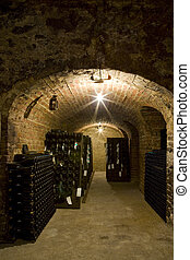 Champagne Winery,  Epernay, France