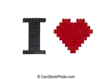assembled lego