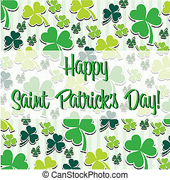 Happy St. Patrick's Day - Happy Saint Patrick's Day scatter...