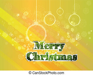 Feliz, Saudação, fundo, cartão, Natal