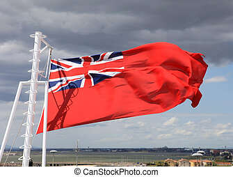 Flag - British Merchant Marine Flag