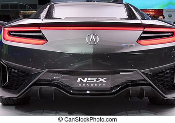 DETROIT - JANUARY 27 :The Acura NSX Concept at The North...