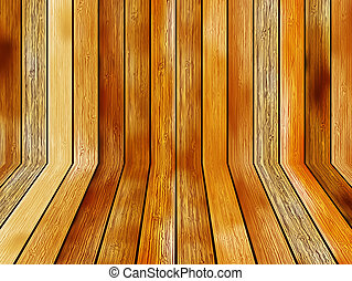 Abstract wooden flooring background.  + EPS8