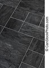 Slate stone textured flooring - Solid stone Slate flooring a...