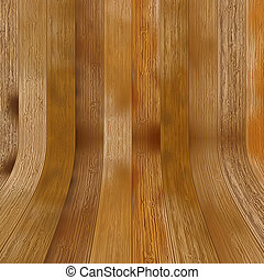 Brown wooden laminate as a background + EPS8 vector file