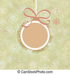 Retro Christmas ornaments.  + EPS8