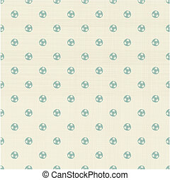 football polka dot seamless pattern