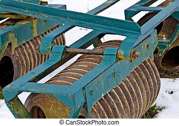 Agricultura, máquina, hibernación