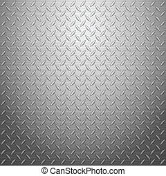 diamond plate 2 - Metal texture background. Vector...