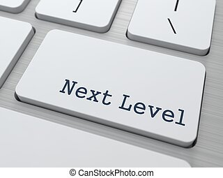 Next Level - Button on Keyboard. - Next Level - Button on...