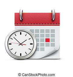 Timing concept - illustration of timing concept with classic...