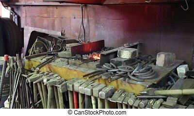 Forge - Interior forge workshop