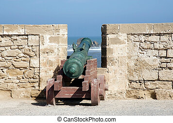 Morocco Essaouira harbour fortification