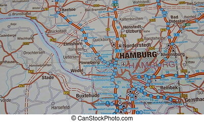 Hamburg (Hamburg) map section