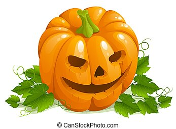 Halloween pumpkin - illustration of halloween pumpkin...