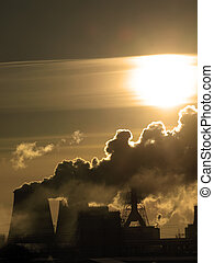 Air pollution - Danger Air pollution