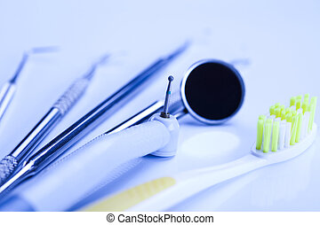 Dental medicine - Dental tools and equipment