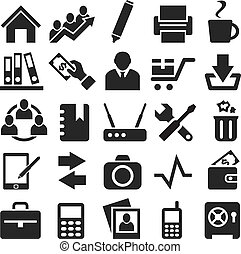 Icons for web and mobile.