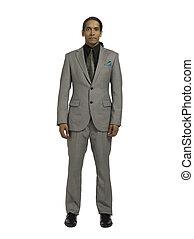vestido, bien,  491, hombre de negocios