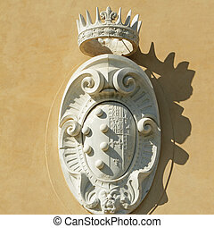 The Medici - Lorena Coat of Arms - detail from from facade...