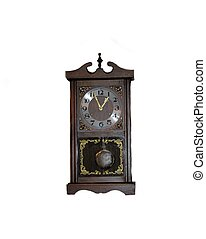 Antique Wind Up Clock - This antique wind up clock has been...