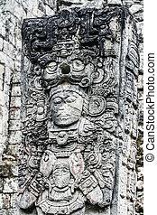 honduras, templos,  Copan,  ruinas