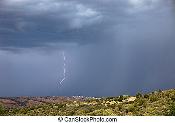 Lightning Strike in Arizona