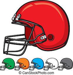 american football helmet collection (helmet football team,...