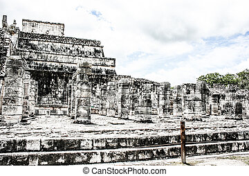 Historic place in Chichen Itza Mexico