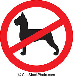 no dogs sign no dogs or pets