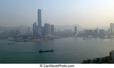 Pollution and Hong Kong Harbor