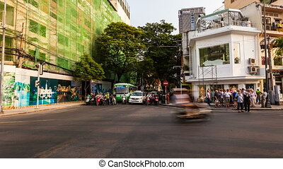 Timelapse of Traffic in Ho Chi Minh City