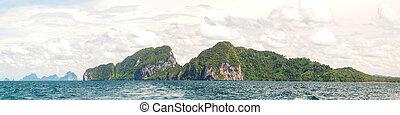 Panorama Tropical Andaman Coast