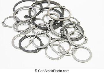 Retaining Rings - external and internal Retaining Rings...