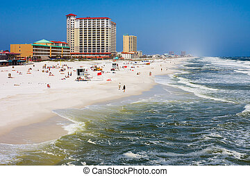 Florida - Pensacola Beach in Florida