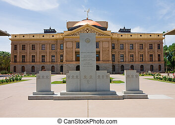 Phoenix Arizona - Capitol Building in Phoenix Arizona