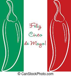 Cinco De Mayo - Feliz Cinco de Mayo Happy 5th of May hand...