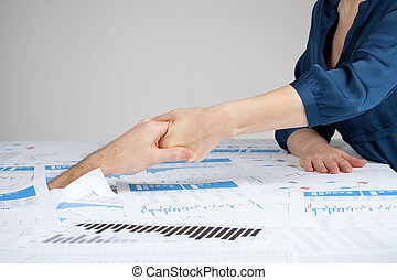 Helping hand against bureaucracy (rescue of paperwork) for...